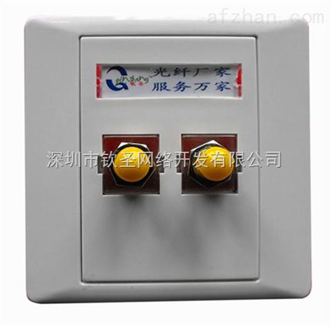 深圳ST双口光纤面板