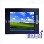 鋁合金強固型12寸工業觸摸顯示器壁掛式嵌入式深圳觸摸顯示器廠家