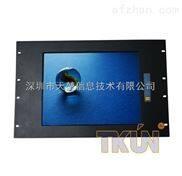 12寸机架式工业触摸显示器12寸上架式铝合金LED显示器