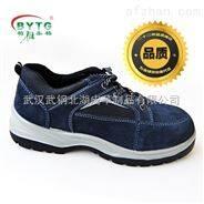 休闲款劳保鞋 X1069 (深蓝反绒)