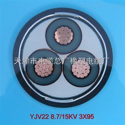 YJV22电缆,YJV22-26/35千伏3*500高压交联电力电缆价格