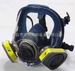 消防器材:双滤盒防毒面具 全面罩防毒面具