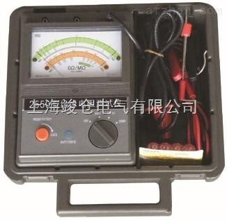 2550指针式绝缘电阻测试仪