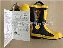 現貨供應新標準2014款消防*靴,鋼板抗刺穿防護靴