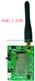 DEMO_A_D2WU无线对讲/数据传输模块演示版/评估板