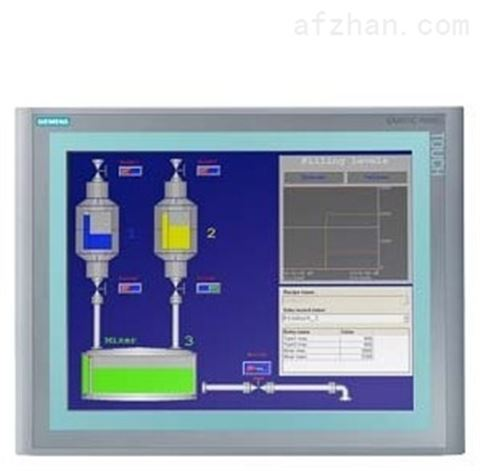 西门子HMI KTP400 Basic mono PN 精简面板