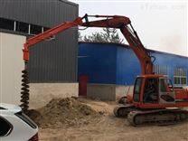 改装挖坑机 钩机挖坑机
