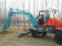 轮式挖坑钻眼打洞机 螺旋光伏打桩机 挖掘机挖坑机