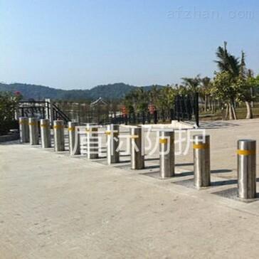 学校自动防撞升降柱生产供应商,学校道路升降路障机