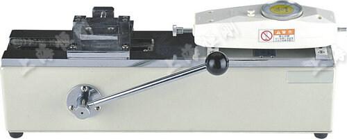 卧式推力机图片  可配置表盘推拉力计