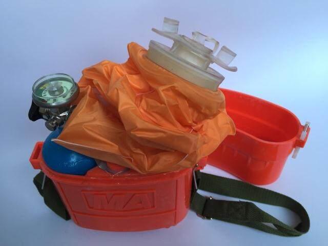 福建带煤安证隔绝式自救器zyx45使用方法