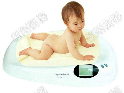 婴儿电子身高体重称