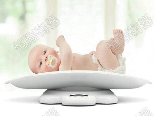 医院婴儿体重秤